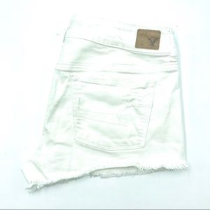 American Eagle White Shorts, Size 10, EUC